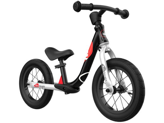 """RoyalBaby Run Knight Alloy Balance Bike 12"""" Kids, negro"""